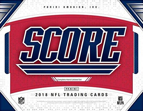 2018 Score Complete Hand Collated Football Set of 440 Cards (With 110 Rookies) Includes Josh Allen, Baker Mayfield, Josh Rosen, Saquon Barkley, Sam Darnold, Carson Wentz, Dak Prescott, Ezekiel Zeke Elliott, Tom Brady, Odell Beckham, and others