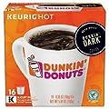 Dunkin Donuts Dark Roast Coffee K-Cups For Keurig K Cup Brewers