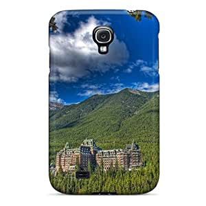 New Fantastic Hotel Resort In The Mountains Hdr Tpu Case Cover, Anti-scratch AccDavid Phone Case For Galaxy S4