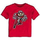 Gen 2 NCAA Ohio State Buckeyes Toddler Standing Mascot Tee, 3T, Red