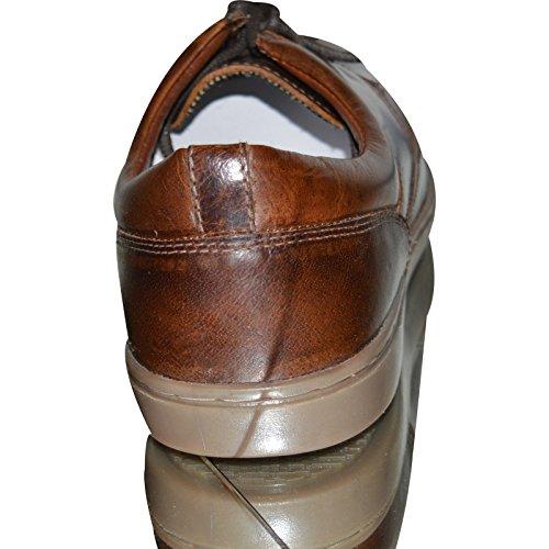 Xelay - Zapatos de Vestir hombre marrón