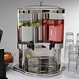 American Metalcraft JUICE12 Juice Dispensers, 17'' Length x 15'' Width, Silver