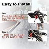 sanstar Xlite100 Smart Bicycle Tail Light,USB