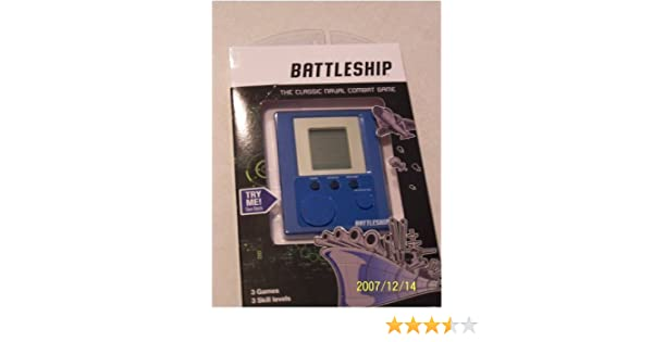 Amazon.Com: Electronic Hand Held Battleship Game: Toys & Games