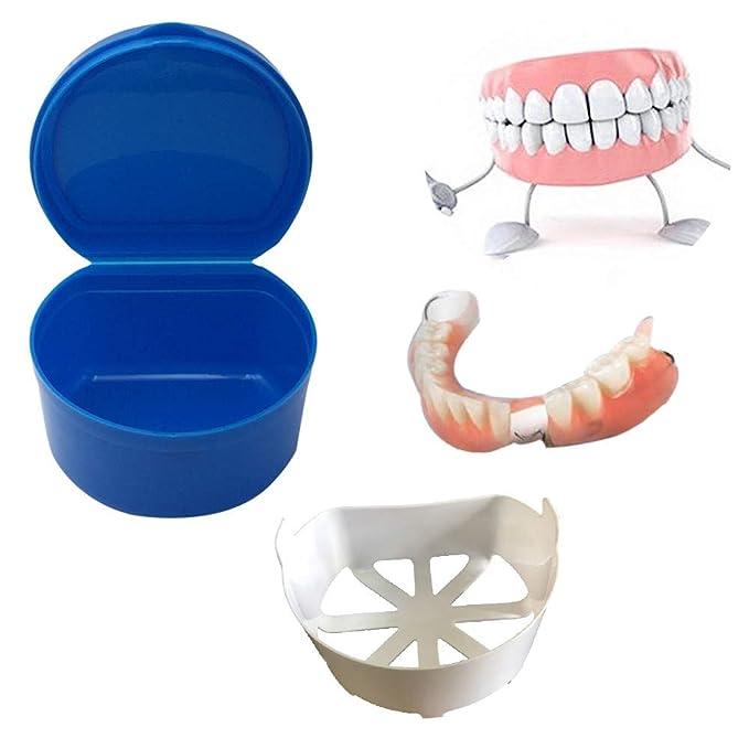Amazon.com: Ecurson - Caja de almacenamiento de dentadura ...