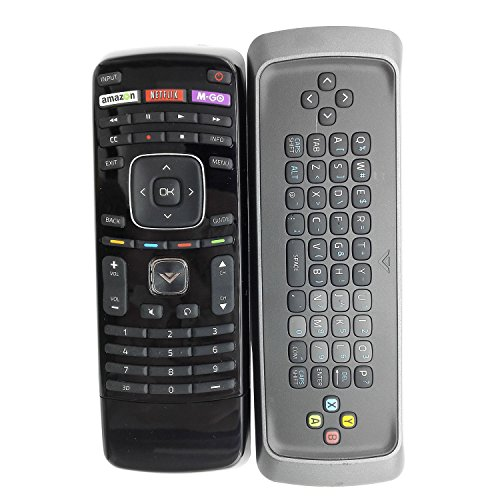 New XRT303 Qwerty keyboard remote FIT for VIZIO M3D550KDE M3D470KDE M3D550KD 3D M-GO TV internet TV---30 days warranty!