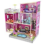 KidKraft Girl's Uptown Dollhouse with Furniture