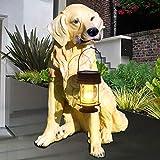 LOVEPET Garden Light Outdoor Solar Light Home LED Gift Simulation Animal Dog Ornaments Landscape Light