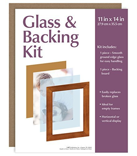 MCS Glass & Backing Kit For 11x14 Picture - Glass For Picture Frames