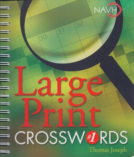 Large Print Crosswords #1 ()