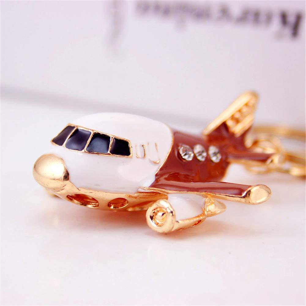 Amazon.com: JewelBeauty - Llavero con diseño de avión ...
