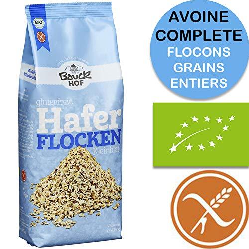 Copos De Avena Sin Gluten Orgánica 475g Bauckhof | Avena Bio En Copos Sin Gluten: Amazon.es: Alimentación y bebidas
