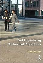 Civil Engineering Contractual Procedures