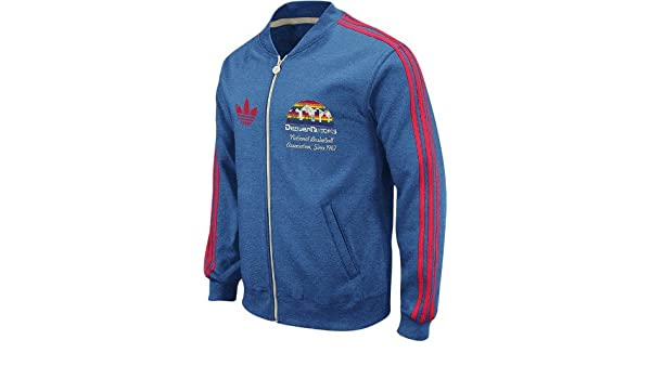 adidas Denver Nuggets Throwback Full Zip Vintage Track ...