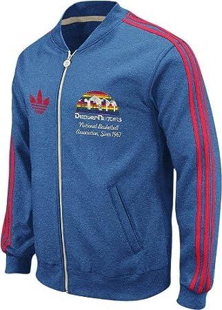 adidas Denver Nuggets Throwback Full Zip Vintage Track ...