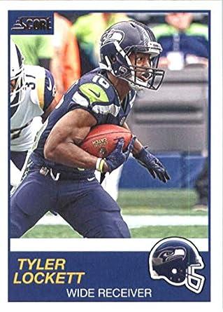 81eddf15 Amazon.com: 2019 Score #317 Tyler Lockett NM-MT+ Seattle Seahawks ...