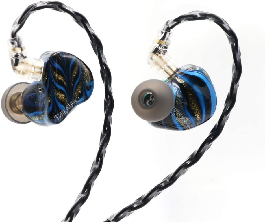 Thieaudio Legacy 3 2BA + 1DD Hybrid Triple Driver in Ear Monitor for Audiophiles Musicians (Mystique)