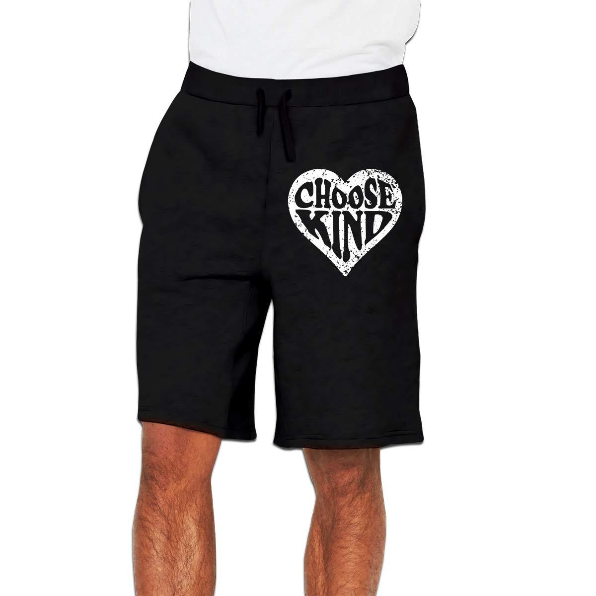 Mens Choose Kind Jogger Shorts Pajama Short