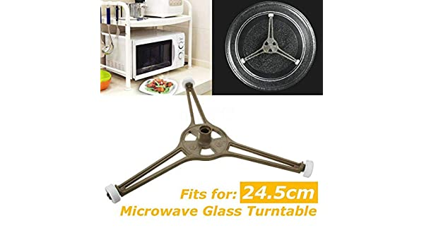 Amazon.com: Triple Arm Microwave Glass Turntable Plate ...