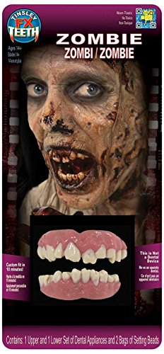 Tinsley Transfers Zombie Teeth Adult Accessory -