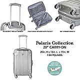 "Travelers Club 20"" Carry-On""Polaris"