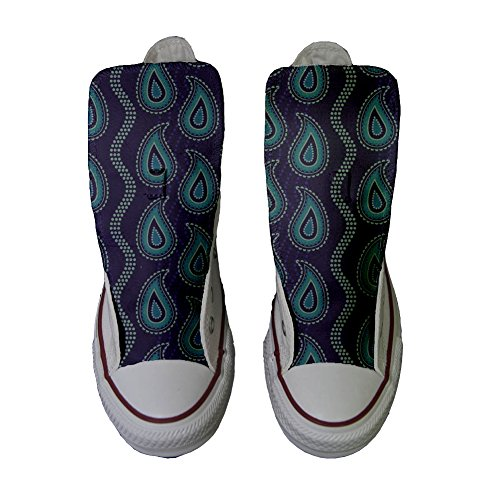 CONVERSE All Star Slim scarpe personalizzate Sneaker unisex (Prodotto Artigianale) Ganjafriend