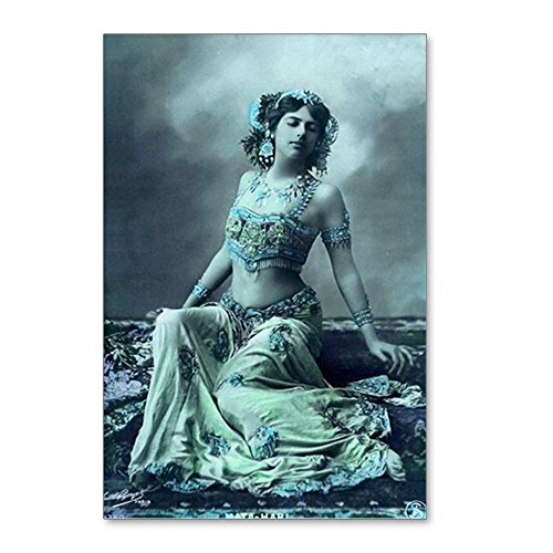 CafePress - Vintage Bellydance Wall C - Postcards (Package of 8), 6