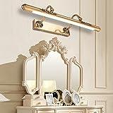 LED Mirror Light Vintage Mirror Cabinet Light Lightening Mirror Mirror Bathroom Lighting (52CM, 9W)
