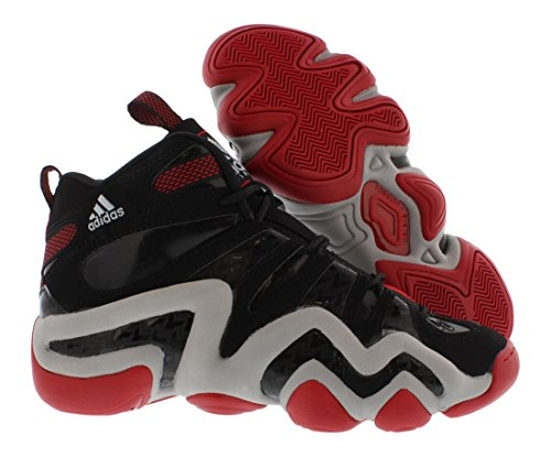 adidas basketball shoes. amazon.com: adidas (gs) big kids crazy 8 j basketball shoes, black, 5 m us: shoes r