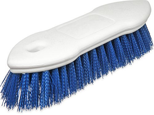 Carlisle 4549414 Spectrum Pointed End Scrub Brush, Polyester Bristles, 8