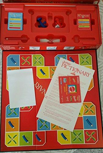 Mattel Pictionary Words Junior Classic Game