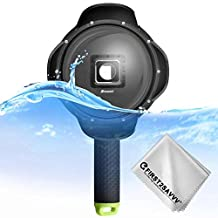 First2savvv Shoot 6 inch Diving Underwater Camera Lens Dome Port Lens Housing for YI 4K Sports Action Camera Handheld Grip Underwater Photography -YI2-YYZ-A01