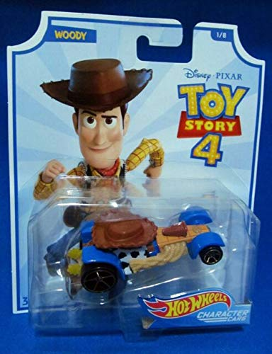 Hot Wheels Character Cars Toy Story 4 Woody