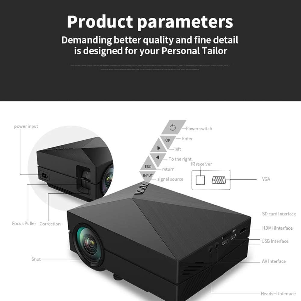 Proyector portátil para Juegos de Fiestas de Entretenimiento de ...