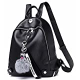 Women Backpack Purse Waterproof Soft and Lightweight PU Leather Cute Casual School Shoulder Bag