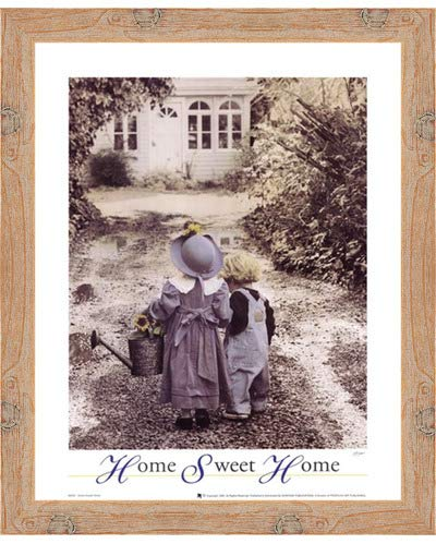 Home Sweet Home by Gail Goodwin – 16 x 20インチ – アートプリントポスター 16 x 20インチ LE_664396-F10902-16x20  Knotty Wood Frame B01NCYDASU
