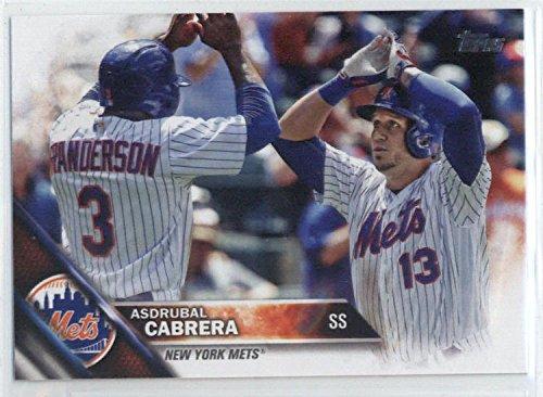 Baseball MLB 2016 Topps Update #US87 Asdrubal Cabrera NM-MT Mets