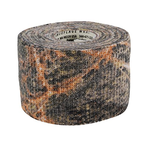 GEAR AID Camo Form Self-Cling and Reusable Camouflage Wrap, 2' x 144' Roll