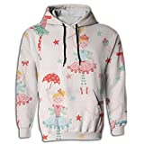 Paskcc Men's Hoodie Cheap Tops Shirt Coat Pullover Ballet Dance Girl Athletic
