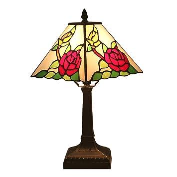 Lámpara de escritorio estilo Tiffany 11 pulgadas Luz cálida ...