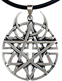 Unbiased Faith all religions Coexist Star Unbiased disturbed Pewter Pendant