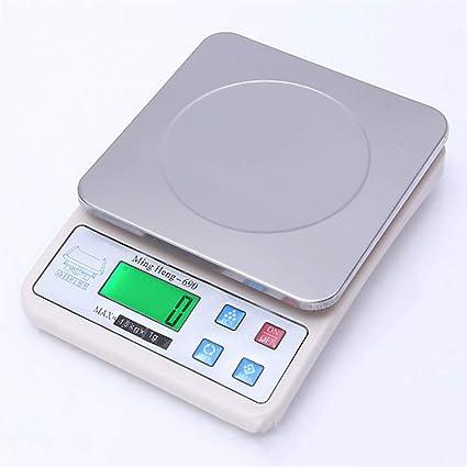 Balanzas Electrónicas Básculas De Cocina De Alta Precisión Hogar Balanza De Precisión,2Kg/0.1