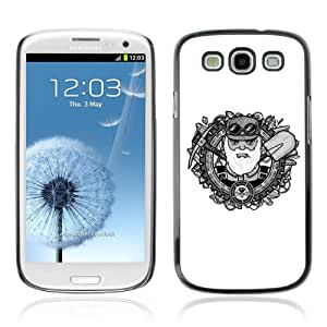 Designer Depo Hard Protection Case for Samsung Galaxy S3 / Cool Oldschool Miner