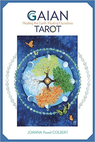 Gaian tarot healing the earth healing ourselves joanna powell gaian tarot healing the earth healing ourselves joanna powell colbert 9780764350627 amazon books fandeluxe
