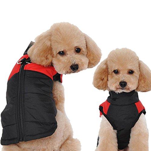 (Hpapadks Golden Retriever Husky Big Dog Clothes Thicken Warm Pet Clothing, Puppy Vest Jacket Chihuahua Clothing Warm Winter Dog Clothes)