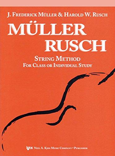 Muller Rusch String Method Book (53VN - Muller Rusch String Method - Book 3 -)
