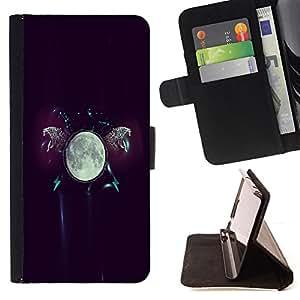 - The Moon Glow/ Personalizada del estilo del dise???¡¯???¡Ào de la PU Caso de encargo del cuero del tir???¡¯????n del s - Cao - For Samsung Galaxy S3 III