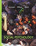 Social Psychology, Aronson, Elliot and Wilson, Timothy D., 0205796621