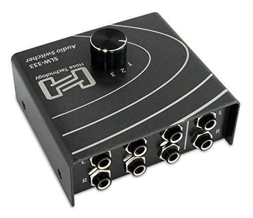 AUDIO SIGNAL SELECTOR SWITCHER SLW 333