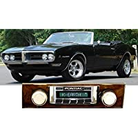 1968 Firebird with Burlwood Trim USA-630 II High Power 300 watt AM FM Car Stereo/Radio with iPod Docking Cable